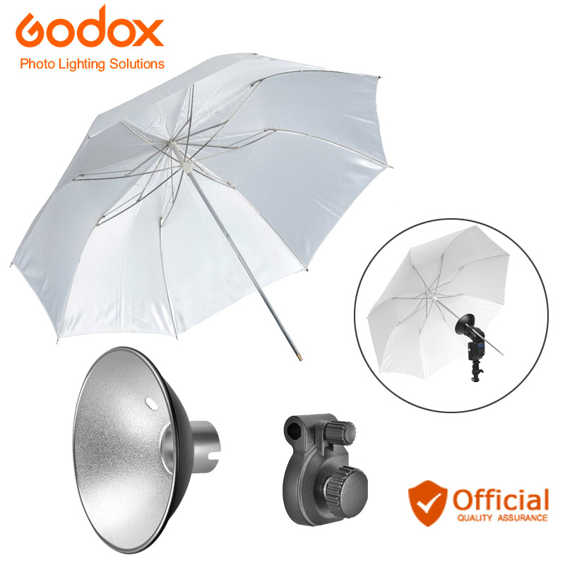 Godox AD S6 Umbrella style Flash Diffuser Reflector +Folded Diffuser for Witstro Flash AD180 AD360 Photography Accessories