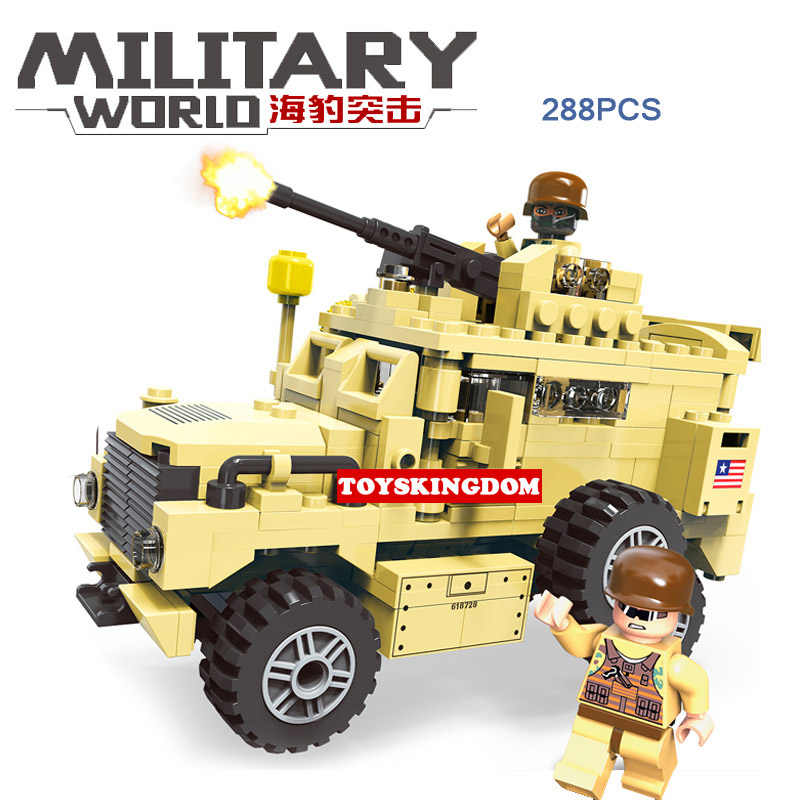 Современные Военные морские котики кирпичи миньфиги строительные блоки ww2