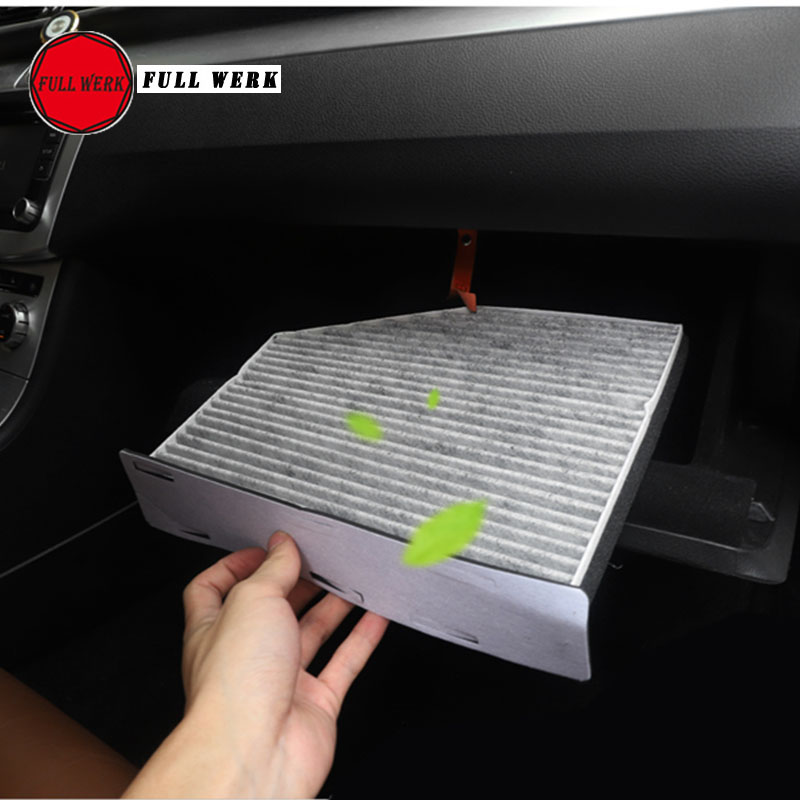1 pc Car Activated Carbon Cabin Filter Air Filter for VW CC Car Styling Accessories