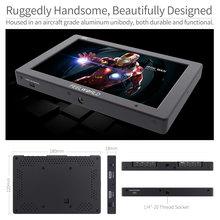 Feelworld T7 7 дюймов ips 4 К монитор HDMI 1920×1200 одноцветное Алюминий Корпус Камера поле монитор с обострением фокус накладные Цвет