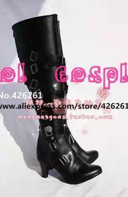 Monoshitsuji Anime Negro Mayordomo Kuroshitsuji Undertaker cosplay party punk lolita ceil Shire patea los zapatos