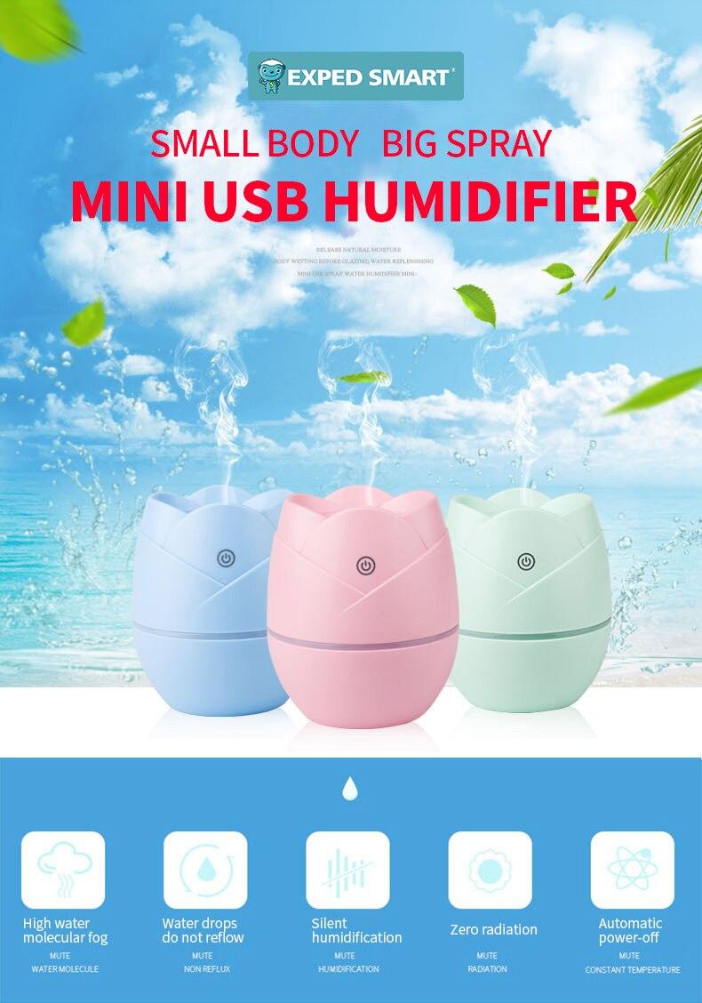 Supply USB mini portable humidifier Creative usb humidifier