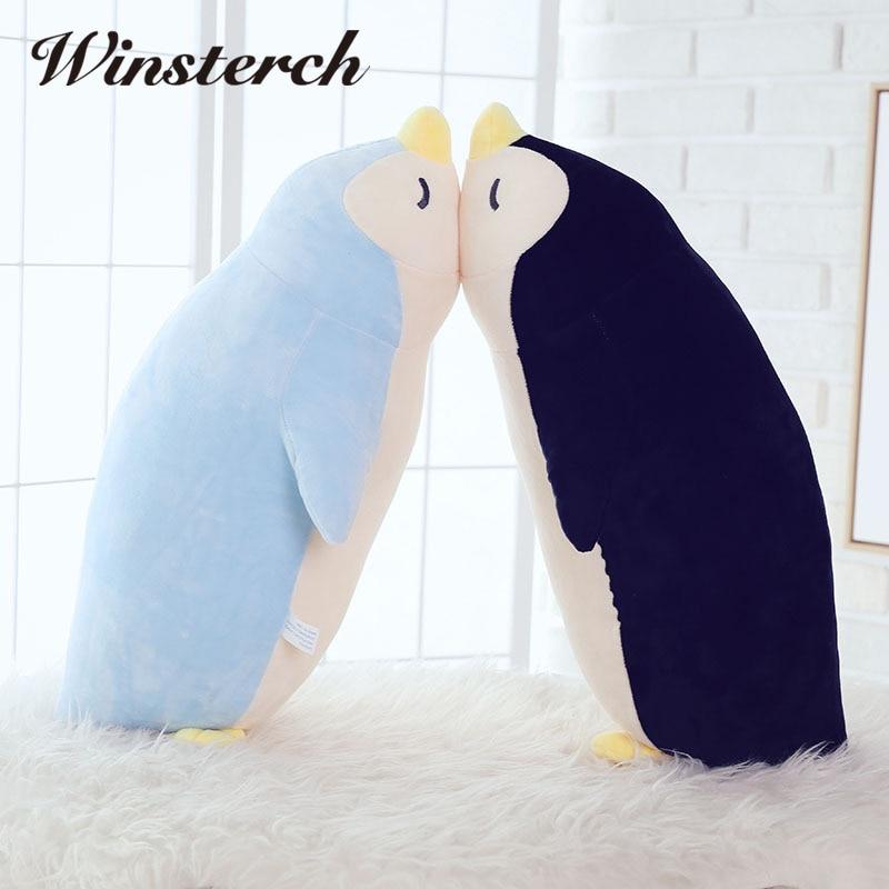 plush animal fluffy penguin