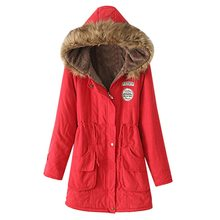 Laamei Weibliche Winter Mantel Verdickung Baumwolle Winter Jacke Mode Womens Outwear Parkas für Frauen Winter 2019 Neue Parkas Frauen(China)