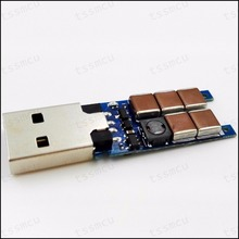 USB Tueur V2.0 Réplique-215VDC Mini Haute Tension Générateur D'impulsions Geek Jock Mischief Jouet Mieux Que Violet Foncé(China (Mainland))