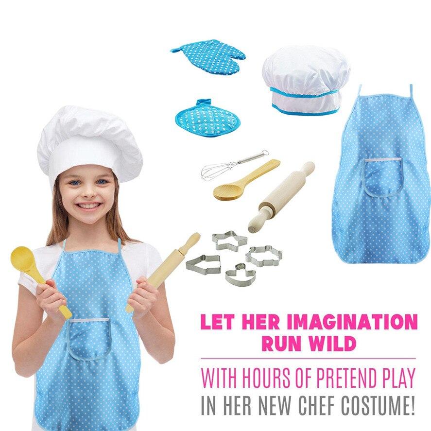 New Baking Set for Kids Chef Costume Set for Kids Girls ...