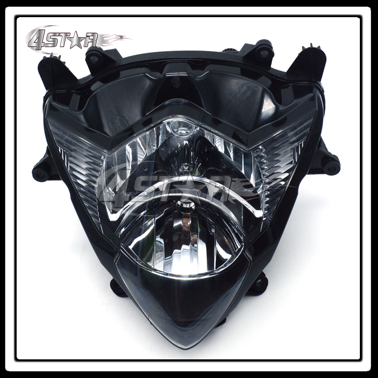 Motorcycle Front Headlights Headlamps Head Lights Lamps Assembly For GSXR GSXR1000 K5 2005 2006 Supermoto Free Shipping
