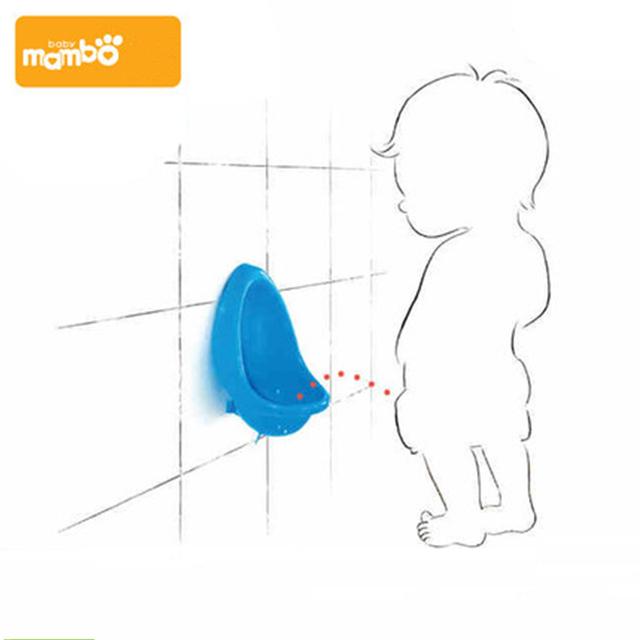Mambobaby Bebé Niños De Esfínteres Inodoro Portátil Niño Soporte Vertical Urinarios Infant Toddler Potty Pee Urinario de Pared