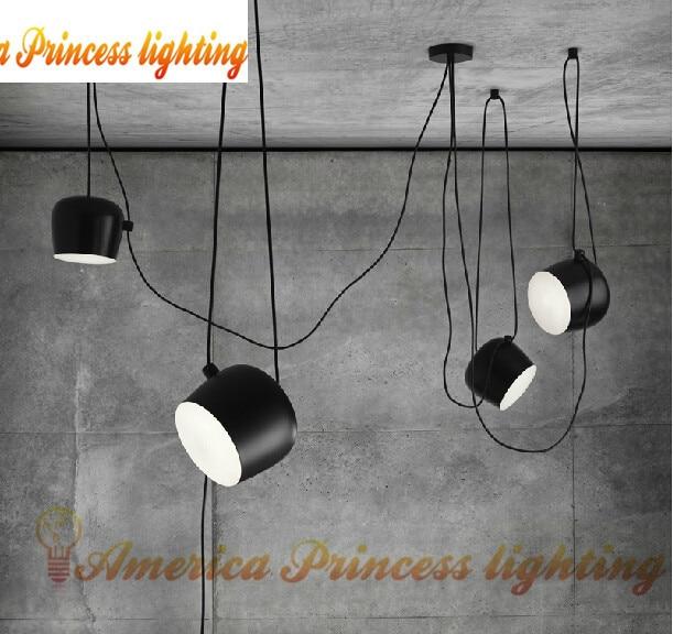 ФОТО Free shipping Bongos Cafe Bar Restaurant chandelier modern showcase  lighting,color: black / white, AC110-240