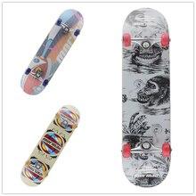 Клена четыре колеса Профессиональные Деревянный скейтборды лонгборд Drift скейтборд ABEC-7 хромированная сталь подшипники Longboard 4 цвета