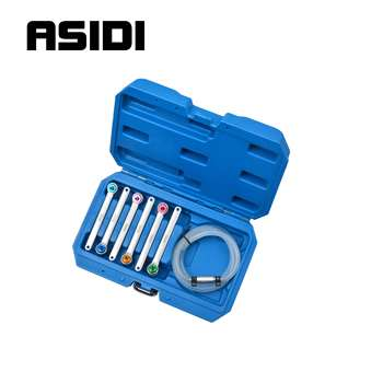 7pc Brake Bleed Universal Wrench Set Bleeding Brake & Hydraulic Clutch Systems7,8,9,10,11,12mm For Many Cars