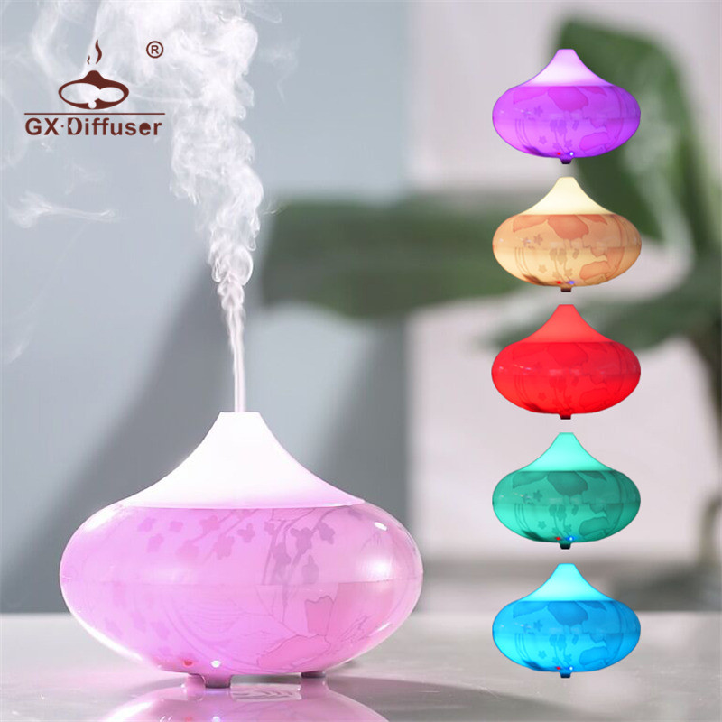 GX.Diffuser Aroma Diffuser Electric Ultrasonic Essential Oil Air Diffuser Aromatherapy Aroma Diffuser Humidifier