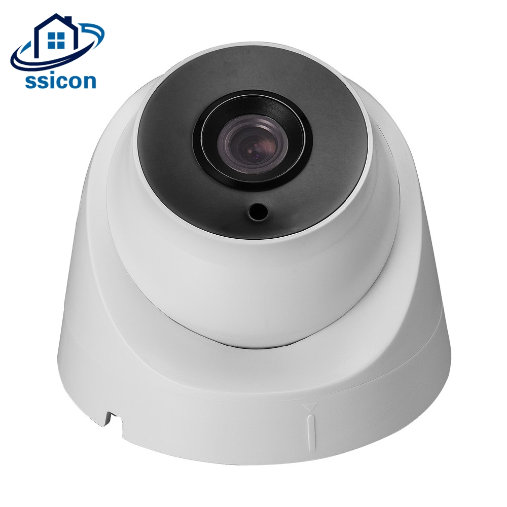 SSICON 2MP 4MP H265 IP Camera Indoor Vandalproof 3.6mm Lens Onvif Night Vision Dome Surveillance CCTV Camera ip camera p2p vandalproof onvif2 4 3 6mm fixed lens hd ir 1080p h265 4mp indoor 8m night vision security camera ip dome camera