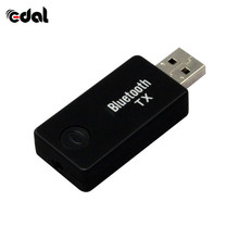USB Bluetooth transmitter Bluetooth 4.0 Audio Music Transmitter Receiver A2DP AVRCP Wireless Stereo Adapter 3.5mm For iPod TV PC