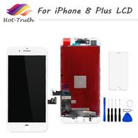 Hot Truth 1 Pcs Display For IPhone 8 Plus LCD Screen Digitizer Assembly 5 5inch 1920x1080