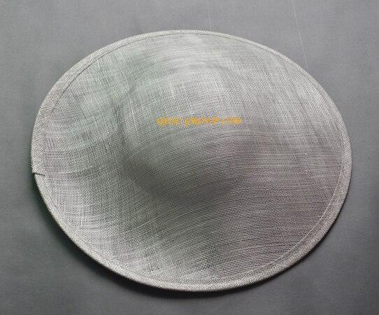 Серебристо-серый sinamay База 1,3 см атласные головные ободки повязки для вуалетки