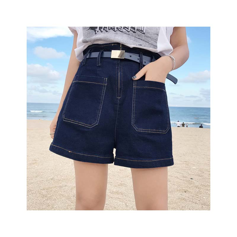 ><font><b>summer</b></font> womens denim <font><b>short</b></font> high waist pockets mini jean <font><b>shorts</b></font> woman women plus size 5xl 2019 jeans <font><b>biker</b></font> wide leg belt ladies