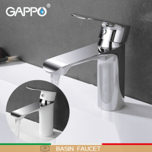 GAPPO basin faucet waterfall shower tap bathroom sink faucet taps mixer bath taps deck mounted faucets led light changing color waterfall basin faucet deck mounted mixer taps brushed nickel dual handle three holes