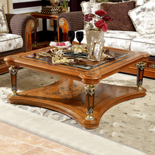 splendid brown contemporary style solid wood square coffee table