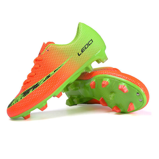 74c7a3b797a55 Online Shop LEOCI New Football Boots Cleats Soccer Shoes Men Kids Boys  Chuteiras botas de futbol voetbalschoenen chaussure foot Chuteiras