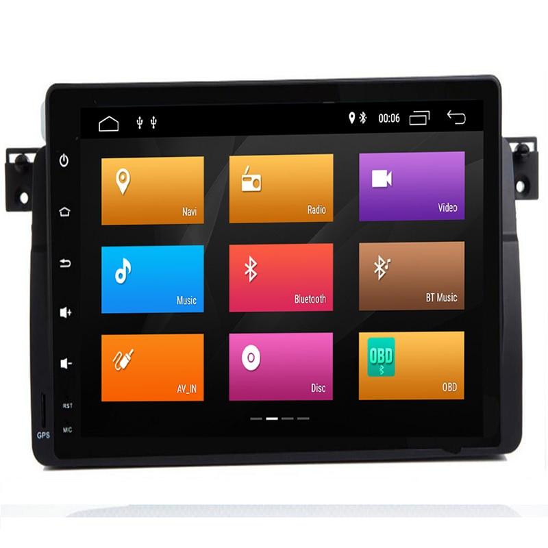 Android 9.0 Octa Core PX5 pour BMW/E46/M3/Rover/3 Series M3 318/320/325/330/335 lecteur DVD multimédia de voiture Navigation GPS Radio