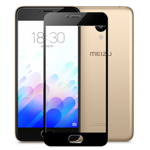 2.5D Full Cowl Tempered Glass for MEIZU M5 5S Note5 MX6 PRO 5 6 U10 U20 22 Full Protection Display screen Protector Toughened Glass Case