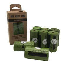 Dog Poop Bags Earth-Friendly 8 Rolls Large Oxo-Biodegradable Dog Waste Bags Doggie Bags Waste Pick Up Cleaning Bag цена и фото