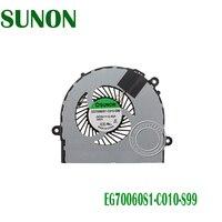 새로운 레노버 ideapad s210 터치 냉각 팬 1104-00253 EG70060S1-C010-S99