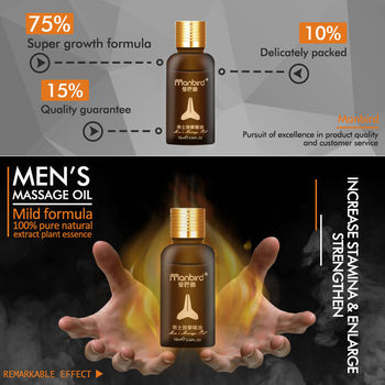 Manbird Men Herbal Penis Enlargement Cream Essential Oil Big Dick Increase Thickening Growth Ejaculation Penile Enlargment Pills