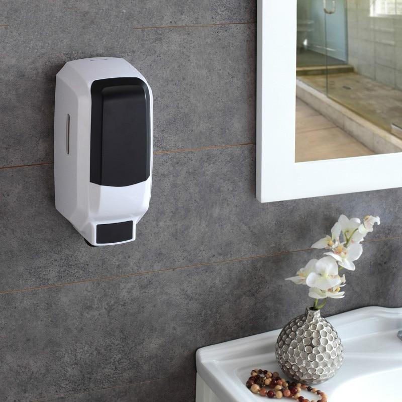 Super large capacity manual single head soap dispenser hand sanitizer feeder bottle box