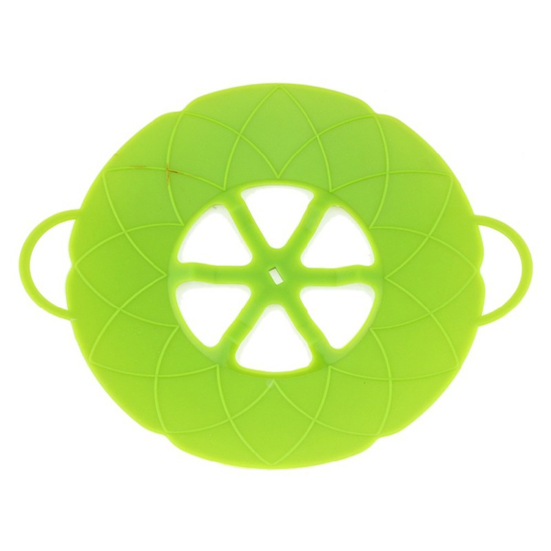 Multi-function-Cooking-Tools-Flower-Cookware-Parts-Green-Silicone-Boil-Over-Spill-lid-Stopper-Oven-Safe (5)