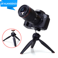 ALANGDUO Steady Self-Tripod Clip Holder Gopro Adapter Camera Photo Tripod For iPhone 5C 6S 7 PLUS For Meizu NOTE Smart Phones