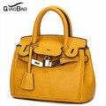 QIAO BAO New 2017 women's handbag for Catch women's messenger bags portable work cross-body leather bag free shipping