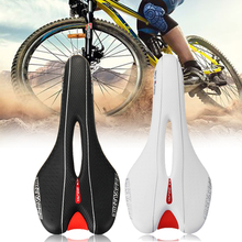 Soft MTB Mountain Bike Cycling Silicone Hollow Saddle Bicycle Seat Cover Ride Racing Silica Gel Bike Cushion Seat Accessories