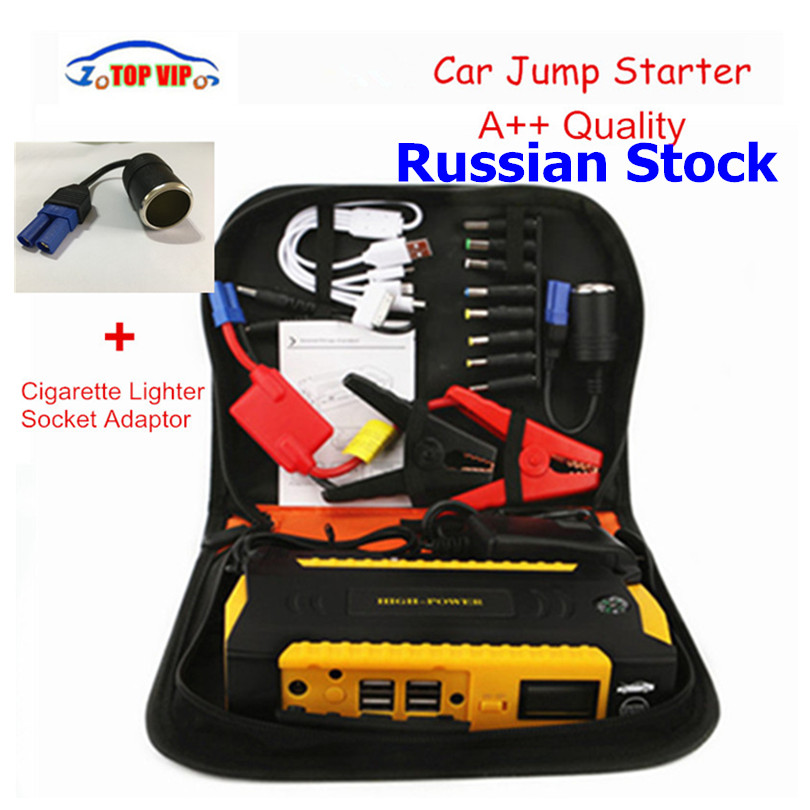 2018 Newest High power 16000mAh car jump starter 12v emergency portable Power Bank car battery charger booster Support Diesel newest 50800mah 12v car emergency start power bank vehicle jump starter booster portable current battery charger three light hot