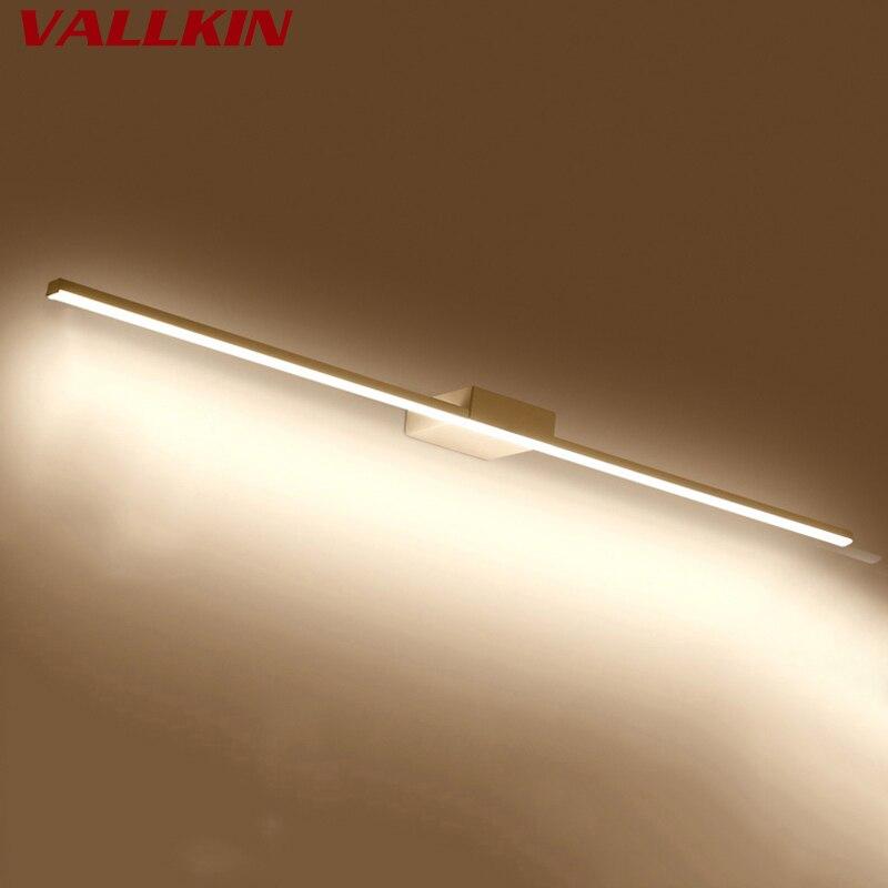 Vanity Lights Mirror Light for Bathroom LED Wall Lamp Fixtures Metal ...