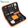 8 en 1 de Temperatura Ajustable 60 W Hierro Eléctrico De Soldadura Kit Con EE.UU. UE UK Plug 6 unids/Puntas de Soldadura Herramienta herramientas de reparación de Portátiles