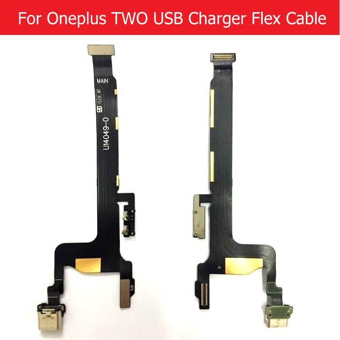 USB Charging Dock Connector Microphone Flex Cable For OnePlus Two 2 A2001 A2003 A2005 USB Charger Jack Port Flex Cable
