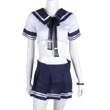 Sexy Erotic School Student Uniform Costume for Crossdressers & Shemales