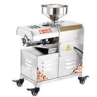 Máquina automática do moinho de óleo da imprensa de óleo do expeller do óleo da mostarda da palma 30 kg/h Prensas de óleo     -