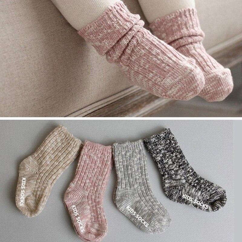Autumn Winter Unisex Boys Girls Wool Warm Baby Socks Toddler Children Cute  Soft Breathable Anti- - Popular Toddler Wool Socks-Buy Cheap Toddler Wool Socks Lots From