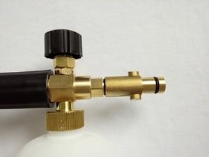 Image 2 - 100% copper car washer snow bubble foam gun fit STIHL high pressure washer gun foam generator foaming lance sprayer