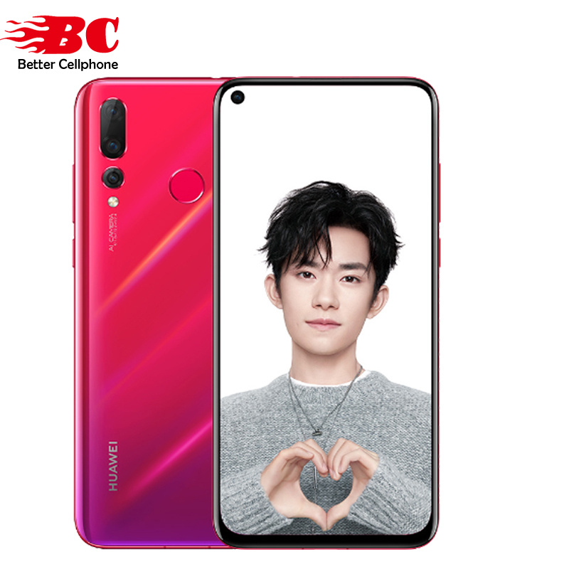 Huawei Nova 4 6GB 128GB GSM/WCDMA/LTE Supercharge Wide-Angle photography Octa Core Fingerprint Recognition