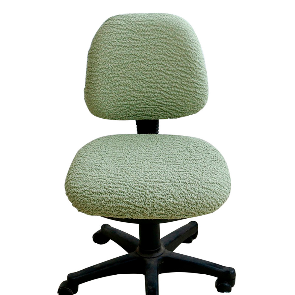 Office Chair Cover Computer Office Chair Covers Removable Stretch Chair Seat Computer Dining Covering Rotating Lift Slipcover