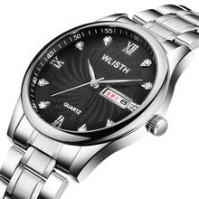 WLISTH New Top Luxury Brand Watches Mens Fashion Casual Quartz Dress Watch Men Military Sports Waterproof Clock  Rolex_watch
