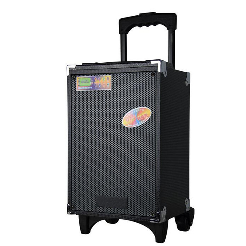 50CM height bluetooth Subwoofer With Mic Super Bass Party Speaker outdoor trolley speaker dancing speaker