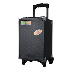 50CM height bluetooth Subwoofer With Mic Super Bass Party Speaker outdoor trolley speaker dancing
