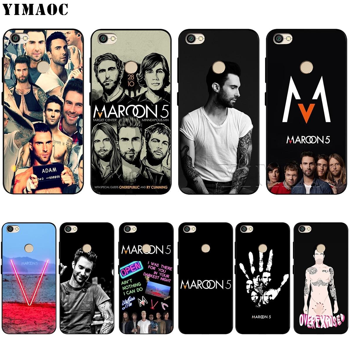 YIMAOC Maroon 5 Adam Levine Soft Silicone Case for Xiaomi Redmi Note 4 4X 4A 5 5A 6 MI A1 mi6 Prime Plus