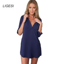 Women plaid long chiffon blouses turn down collar long sleeve shirts Blusas Femininas European side split