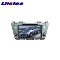 For Mazda 5 Premacy 2010 2017 LiisLee Car Multimedia TV DVD GPS Audio Hi Fi Radio